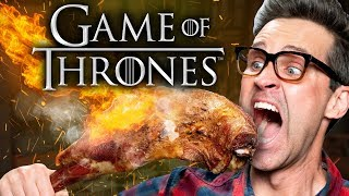Game of Thrones Food Taste Test