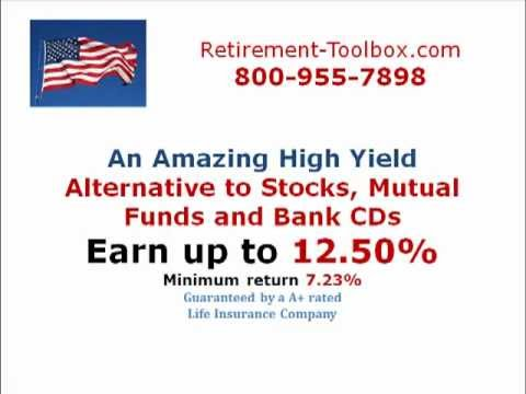 A Truly Amazing high yield alternative to Stocks, Mutual Funds, Bank CDs and Treasuries.