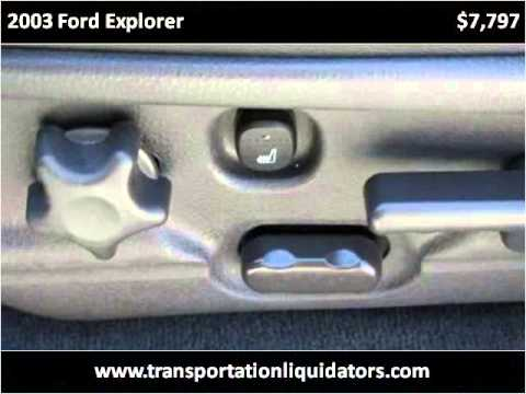 2003 Ford Explorer Used Cars vineland NJ