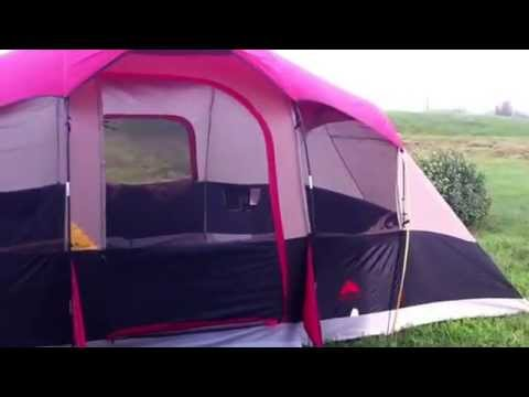 Ozark Trail 8 Man Tent 16 X 10 Family Dome Tent Youtube