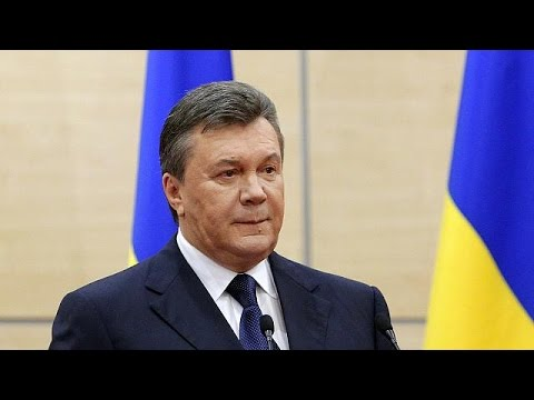 Ousted Ukrainian President Viktor Yanukovich wanted by Interpol