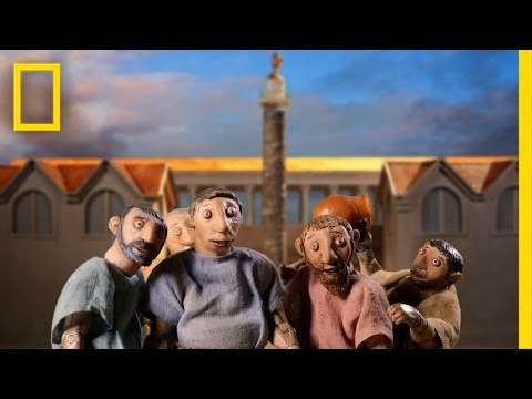 Amazing Stop-Motion: Time Travel to Ancient Rome
