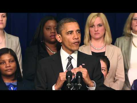Stronger Together: Fair Pay - 2012 Democratic National Convention Video