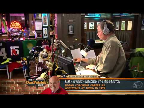 Barry Alvarez on The Dan Patrick Show 12/6/12