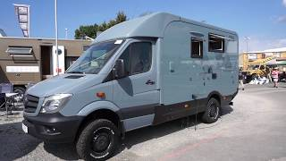 4x4 Mercedes RV from Woelcke, Germany