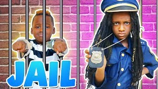 Police Kid SideWalk Patrol  (Pretend Play)