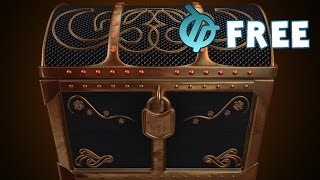 Free Treasure Chest Motion Background