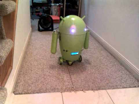Arduino Android modified: 根據要求...AA改回原貌...然後加...仆街...