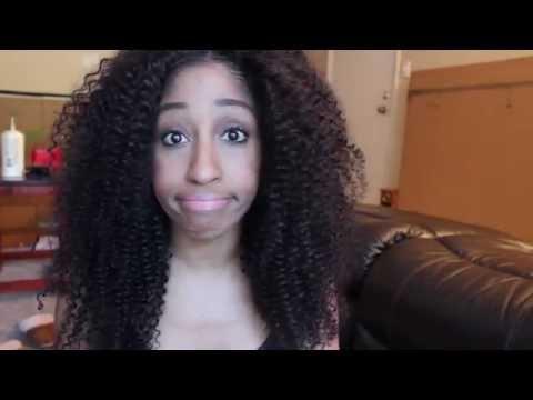 Kinky curly hair Install