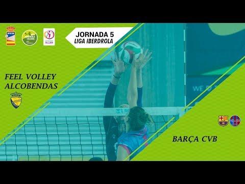 Liga Iberdrola Voleibol: Feel Volley Alcobendas - Barça CVB