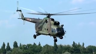 HUAF Mil Mi-8T at Helicopter Meeting Börgönd, Hungary