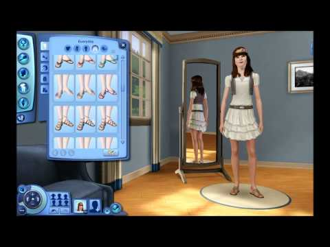 Quxxn Special: The Sims 3 - Boho Vintage Women's Collection w/ Commentary