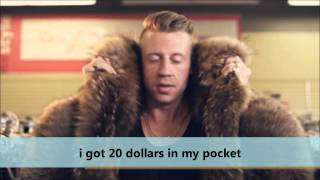 i got 20 dollars in my pocket remix - Thrift Shop