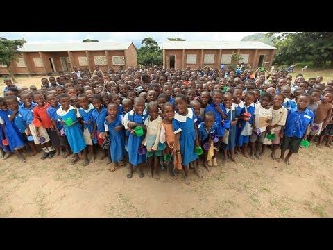 Be One Percent | Mary's Meals - Malawi School Feeding programmes.  Charity Video.