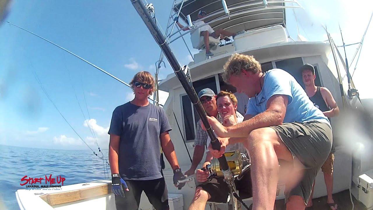 Sportfishing maui start me up marlin 576 fishing bite for Start me up fishing