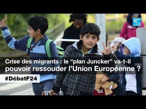 Crise migratoire en Europe : les premiers réfugiés arrivent en France