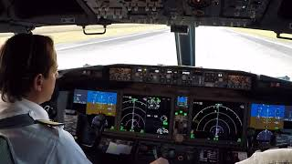 Boeing 737 MAX 8 - Start and Takeoff Procedures - Santa Cruz  -  Bolivia