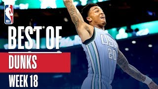 NBA's Best Dunks | Week 18