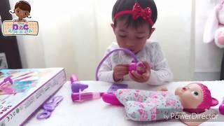 Unboxing Mainan Dokter Doc McStuffin Disney Toys | Buka Mainan Gaya Baby Amala