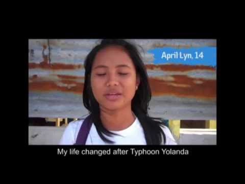 Typhoon Haiyan 6 months on - Children's experiences