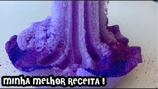 MINHA MELHOR RECEITA DE SLIME ! RECEITA FAVORITA SLIME ! CLOUD SLIME COM GLITTER ! SOFIASFURLANI