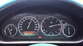 BMW E36 2JZ GTE - test run.