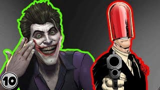 Top 10 Joker Origin Stories