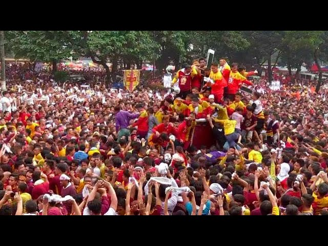 Prayer stations set for 'more prayerful' Black Nazarene procession