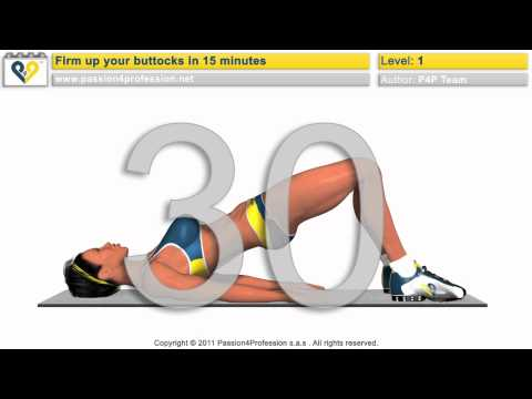 Best exercises for buttocks