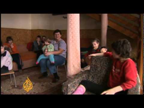 Moldova's abandoned children