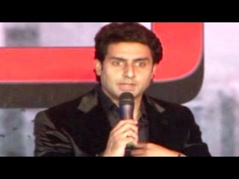 Abhishekh Bachchan APOLOGIZES to the Media at Dhoom 3 Press Conference