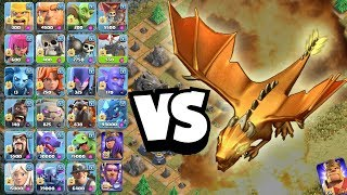 ALLE TRUPPEN vs GOLDENEN DRACHEN! ☆ Clash of Clans ☆ CoC