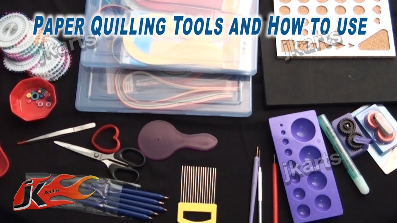 Paper Quilling Supplies Paper Quilling Tools And How