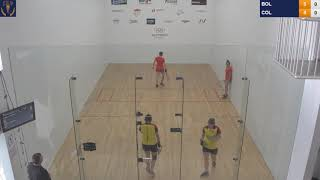 2018 Racquetball World Championships - Women's Doubles Round Robin - COL vs BOL