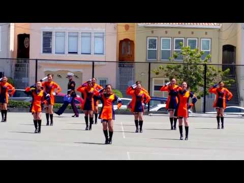 Balboa High School Exhibition Drill Team