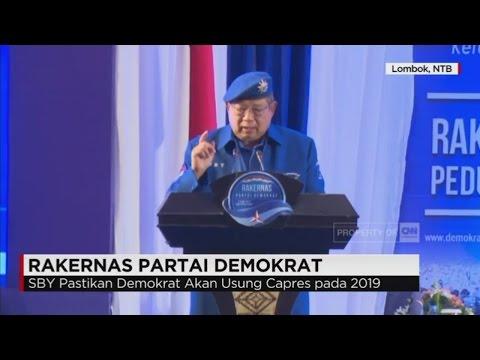 SBY Pastikan Demokrat Usung Capres & Cawapres 2019 - Rakernas Partai Demokrat