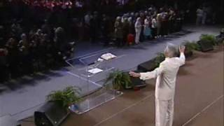 "Benny Hinn sings ""Holy Are You Lord"""