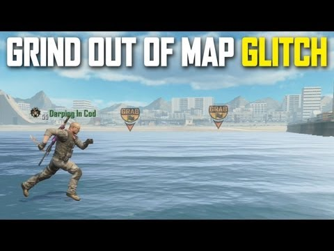 Black Ops 2 Grind Out Of Map Glitch
