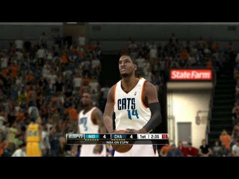 NBA 2K13 - Charlotte Bobcats vs. New Orleans Hornets (NBA 2K12 PC)