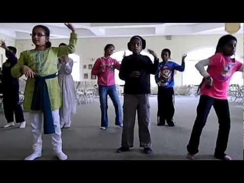 Children's Classical Indian Dance~jai Ho video
