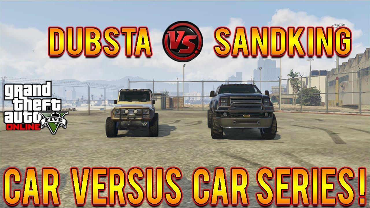 Gta Dubsta 6x6 Gta 5 6x6 Dubsta vs Sandking