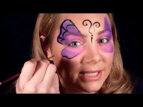 Butterfly Halloween Face Paint Butterfly Mask Face Painting