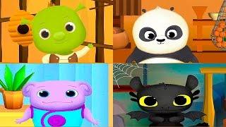 Маленький Шрек и его друзья - Приложение для детей про Героев из Супер Мультиков. Видео для Ребёнка