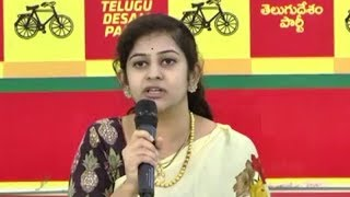 TDP Leader Sadineni Yamini Press Meet LIVE || Vijayawada