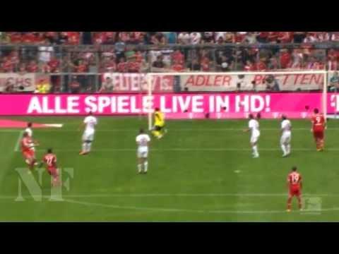 Thomas Müller vs 1. FC Nürnberg (Home) - Bundesliga - 24.08.2013