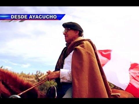 Edwin Donayre: La cabalgata del general en los Andes ayacuchanos