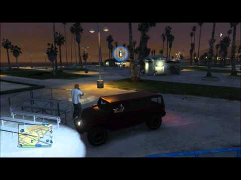 Gta Online: Shemale Picks Up A Hooker, Parkouring, video