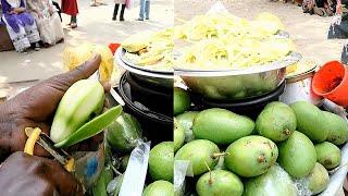 GREEN MANGO MASALA: Yummy Kacha Aam Vora Recipe Summer Special Food Tk 30- Bengali Tasty Twesty Food