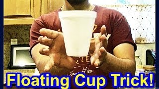 ⬤  Floating Cup! // Cool Magic Tricks To impress Your Friends // Easy Magic Tricks To Do At Home ⬤