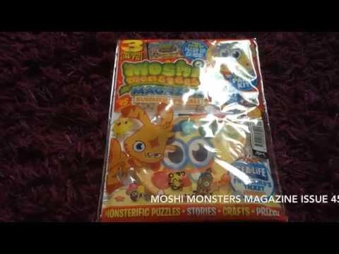 Moshi Monsters Magazine Issue 45